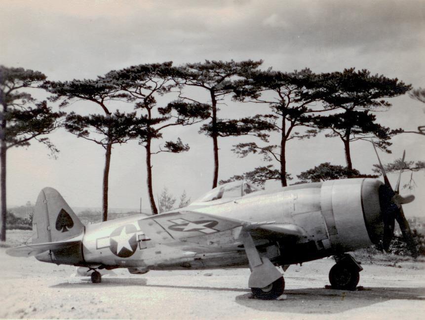P-47N of the 34th FS 413th FG. PTO.