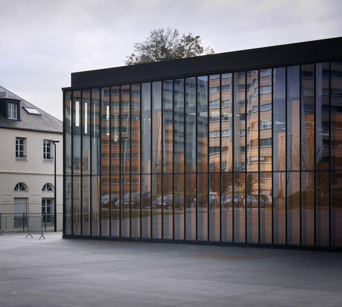 Gallery of Gymnasium and Town Hall Esplanade / LAN ...