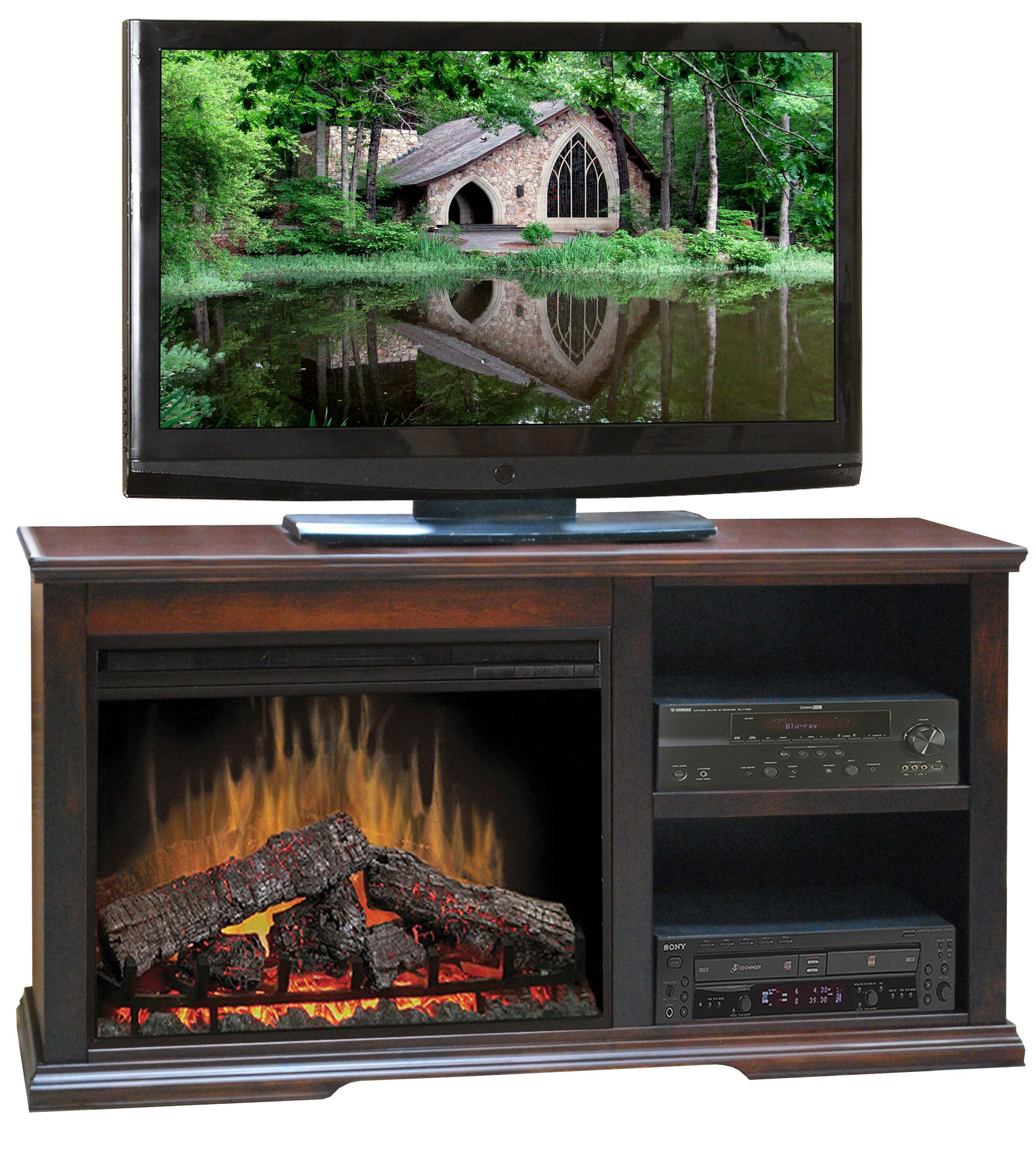Ashton Place Fireplace Media Console by Legends Furniture