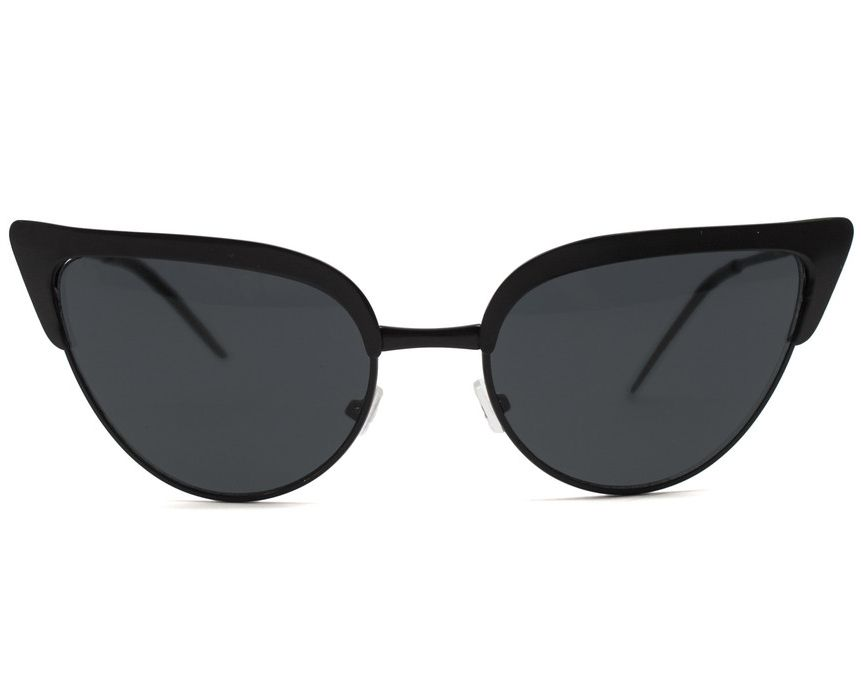 Equal parts badass and chic, these sleek cat eye sunnies transcend their mid-century roots.