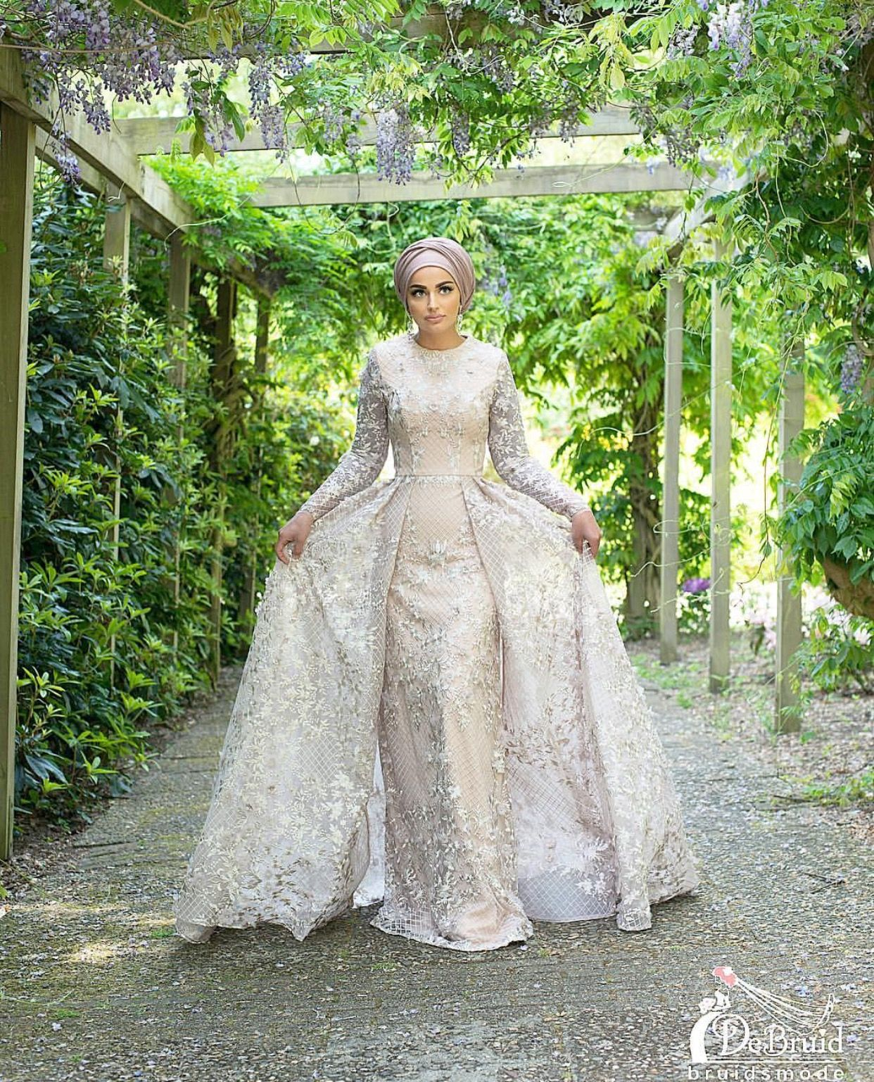 Pinterest Adarkurdish Hijab Style Muslim Wedding Dresses Muslim Wedding Modest Wedding Gowns [ 1537 x 1242 Pixel ]