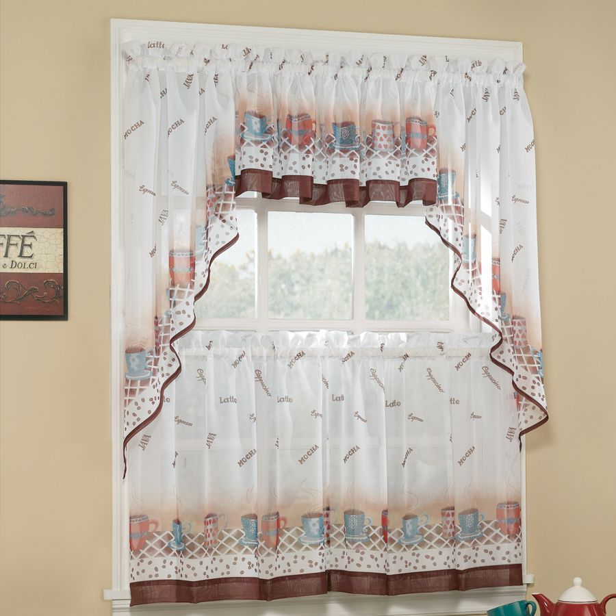 curtain designs kitchen Google Search