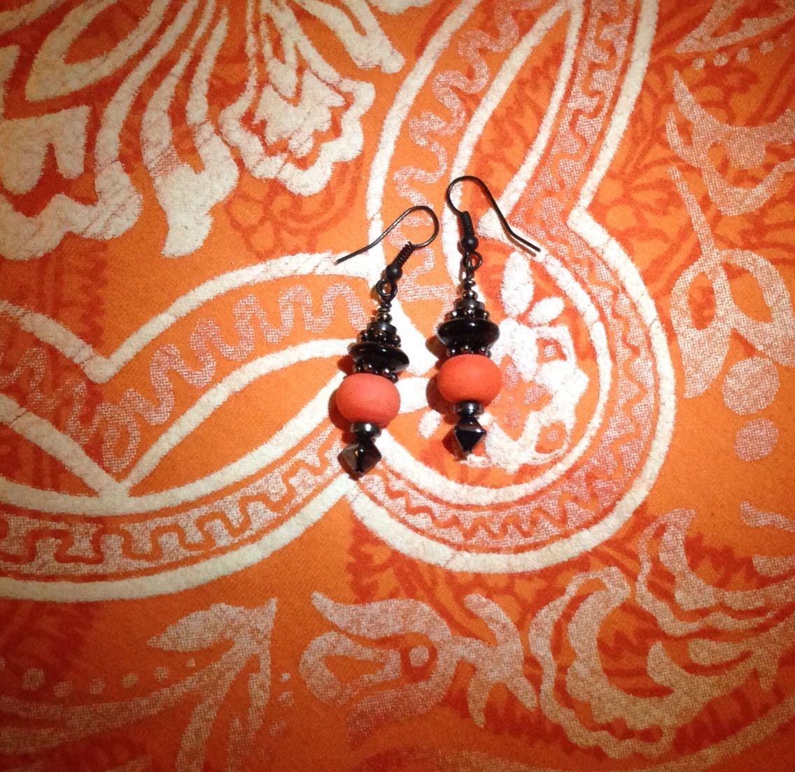 Upcycled and Orange