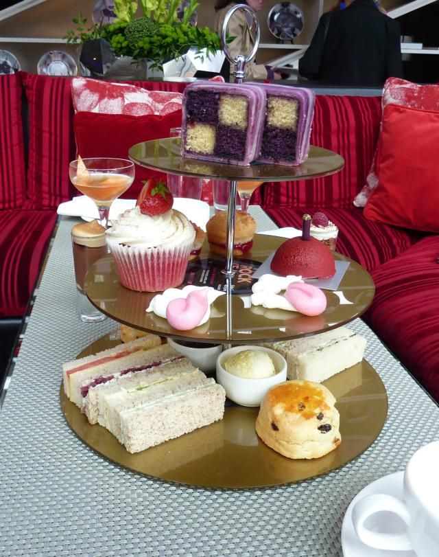W London Rock Tea - Afternoon Tea Review
