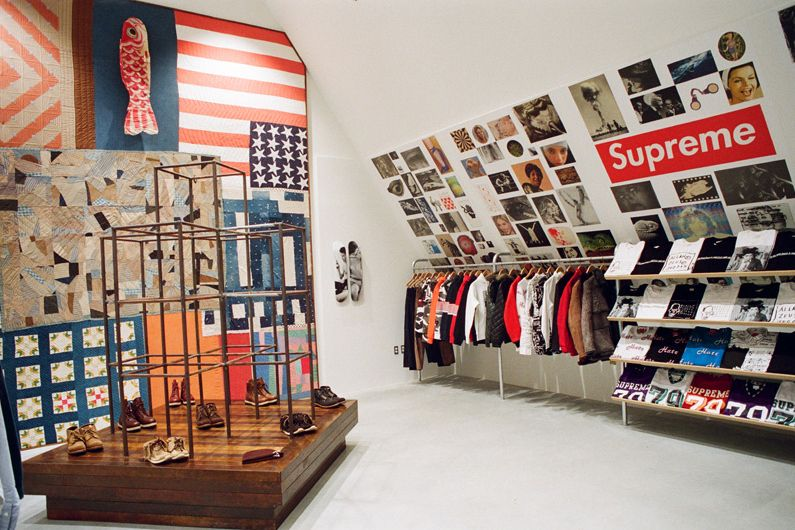 Dover Street Market New York Store Story By Ari Marcopoulos Dover Street Market Nyc Shopping Dover