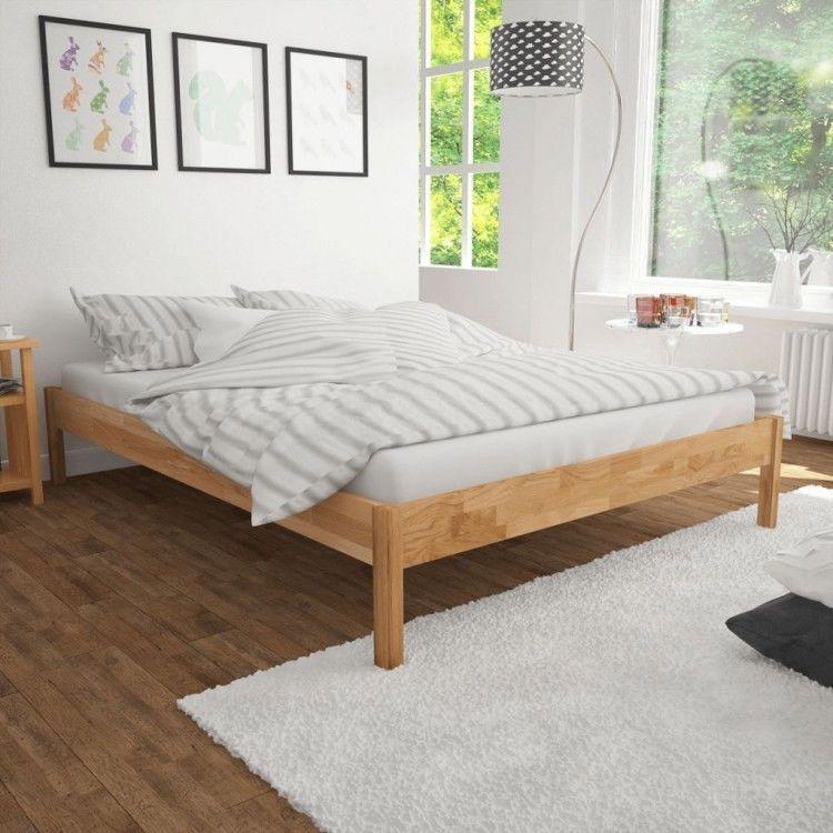 Details About 100 Solid Oak Wooden Frame Queen Size Bed Brown Modern Bedroom Furniture Bedroom Furniture For Sale Modern Bedroom Furniture Oak Bed Frame