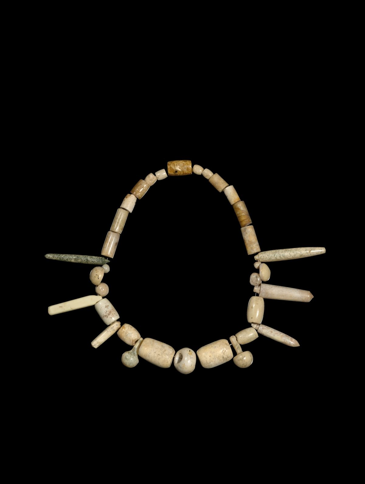 A necklace of neolithic jade beads jades neolithic pinterest a necklace of neolithic jade beads buycottarizona Images
