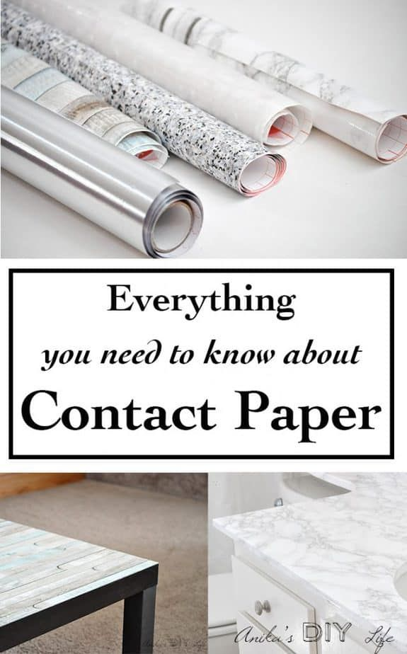 Decorating with all types of contact paper   marble, granite, stainless steel, wood, translucent