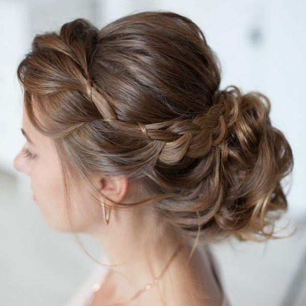 Fryzury ślubne Romantyczne Upięcia Włosy Fryzury ślubne