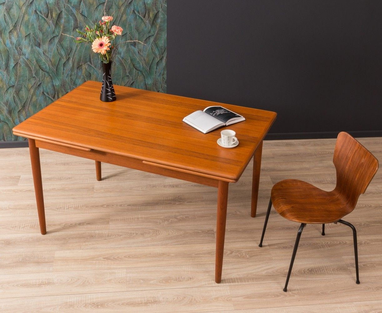 For Sale German Extendable Dining Table From The 1960s