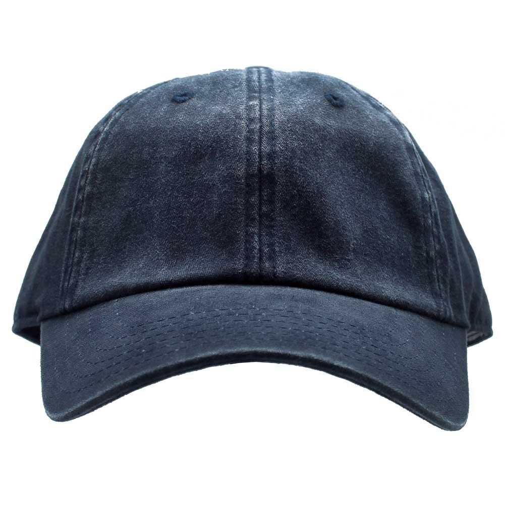 Keep your style simple with the Blank Raglan Washed hat from American  Needle. This simple-but-yet-sexy hat features a navy colored cotton washed  baseball ... 5981ae3357cf