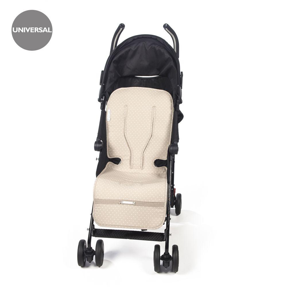 Colchoneta Para Silla De Paseo De Verano Universal Atelier En Topito Beige Funda Ideal Para Cubrir La Silla De Paseo Y Que Tu Beb Baby Strollers Stroller Baby