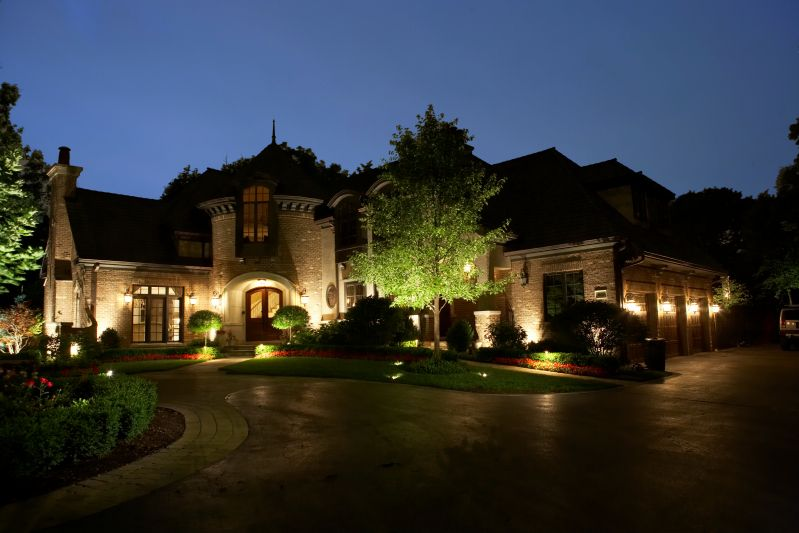 hydro dynamics corp lighting check out this gorgeous house made even more beautiful with landscape lightingoutdoor lightinglighting ideaslandscaping - Outdoor Lighting Design Ideas