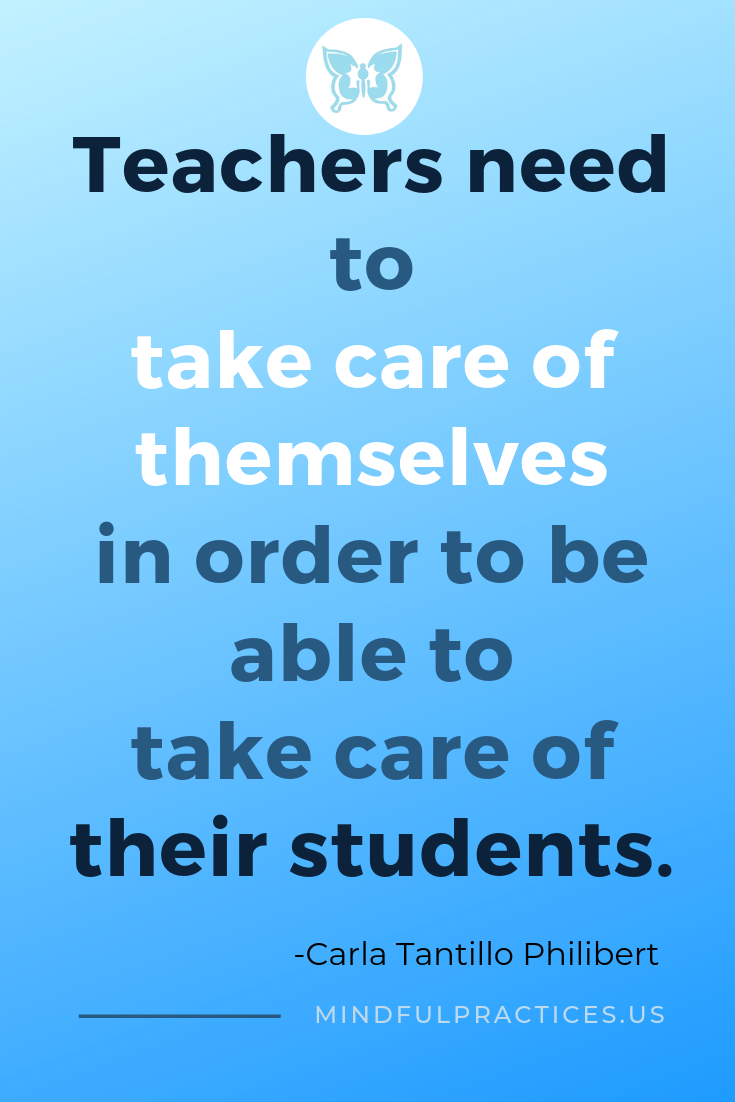 Teacher education inspirational quotes sel selfcare