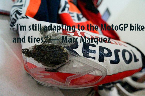 Marc Marquez - Day 1 Testing MotoGP 2013