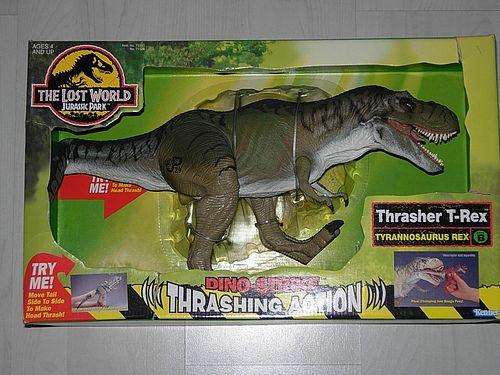 The Lost World Jurassic Park Thrasher T Rex Toy By Reto Kurmann