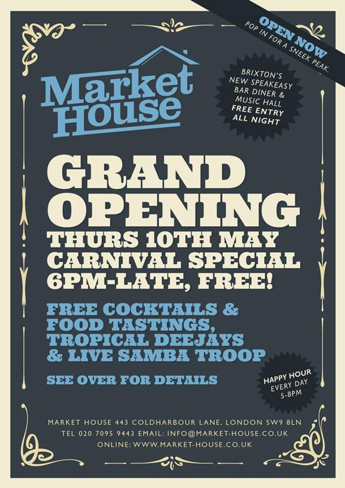 Market flyer work stuff ideas pinterest for Grand opening flyer ideas