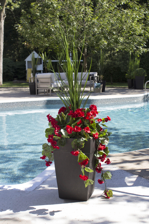 Peachy Modern Outdoor Space With Artificial Plants Download Free Architecture Designs Saprecsunscenecom