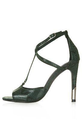 7edd3171e59a REGAL Snake-Effect High Heel Sandals