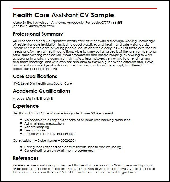cv template healthcare cvtemplate healthcare template cv
