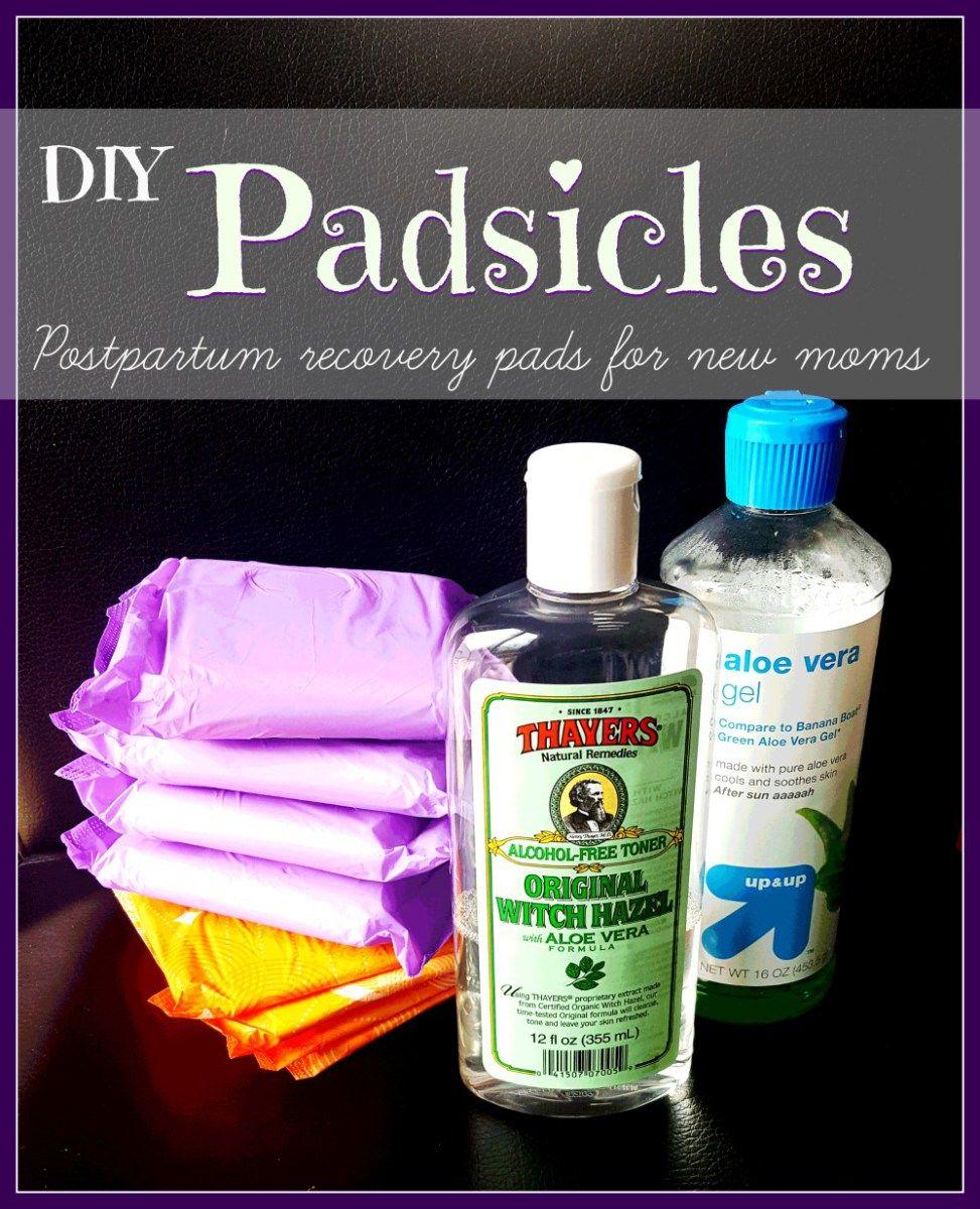DIY Postpartum Padsicles
