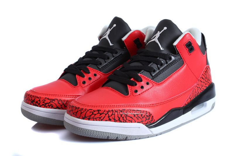 5cccb8134ef Nike Air Jordan 3 Red Bull Sport Shoes for Men_01_02 | Air Jordan 3 ...
