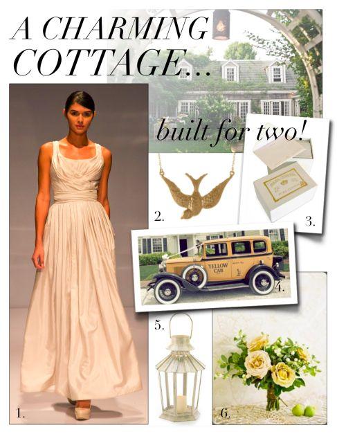 Cottage Wedding Inspiration.