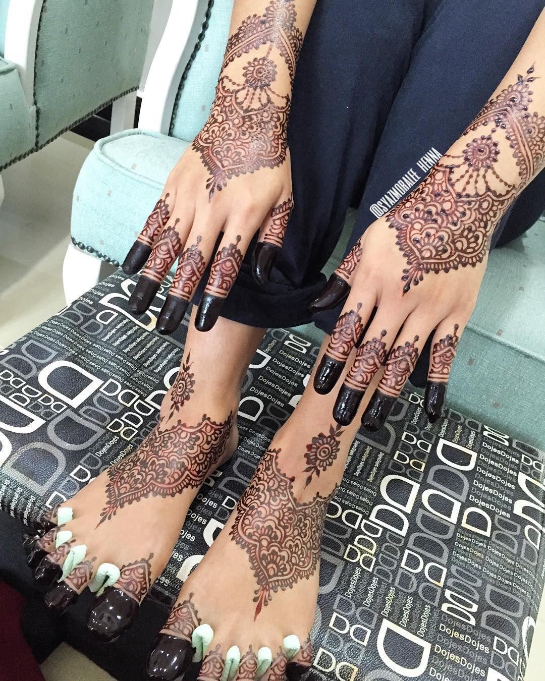 Malay Wedding Henna Mahendi Simple Bridal Mahendi Mehndi