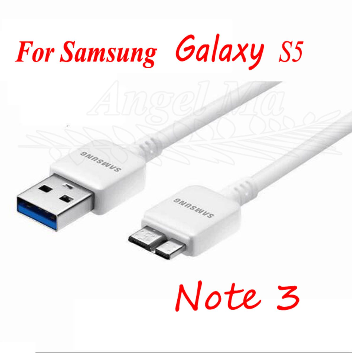 Original Oem Samsung Galaxy Note 3 S5 Usb 3 0 Data Sync Charger Cable Cord