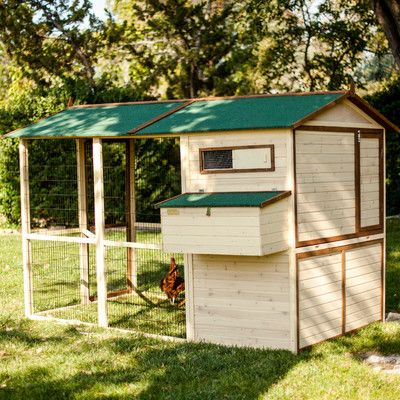 Advantek Arts and Crafts Town House Chicken Coop