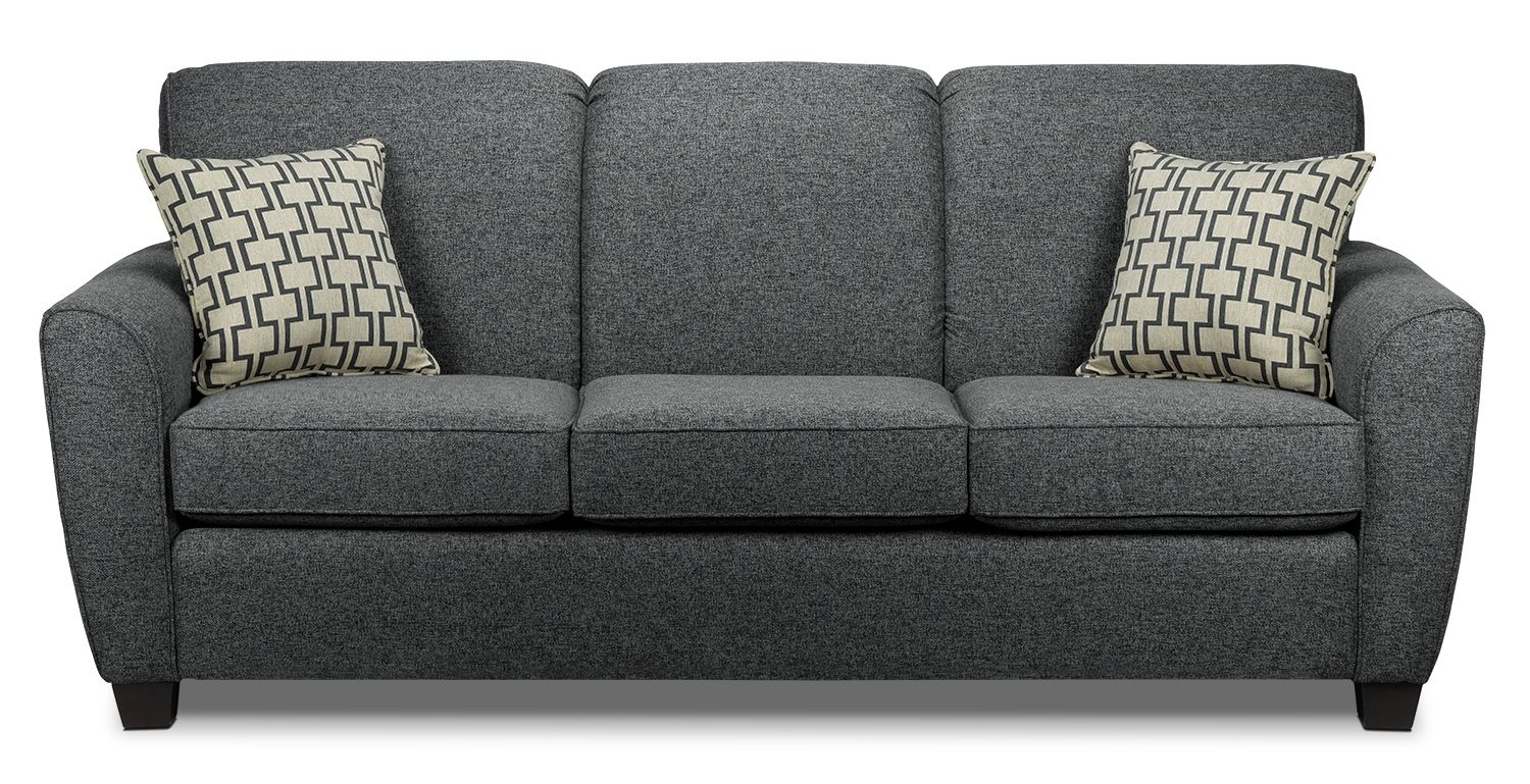 Give your dcor a strong new perspective with the Ashby Grey sofa!