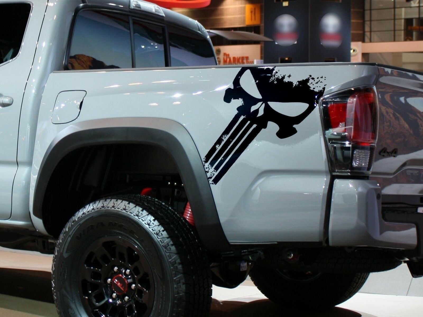 TRD PUNISHER EDITION Decals Toyota Tacoma Tundra Truck Vinyl Stickers 2