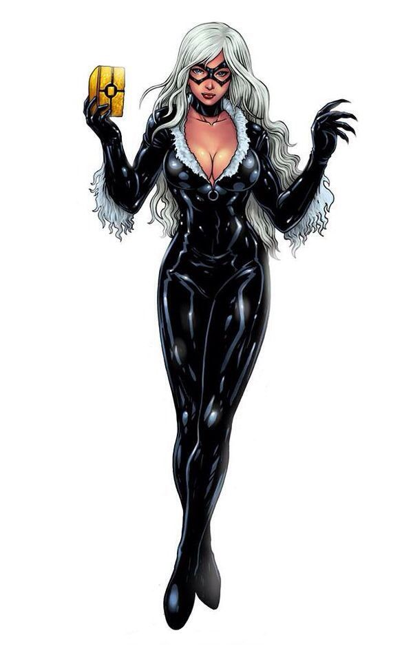 Black Cat Felicia Hardy Is A Fictional Character A Antiheroine