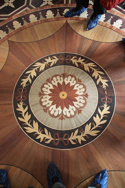 Parquet Floor Inside Pavlovsk Palace By Erwyn Van Der Meer