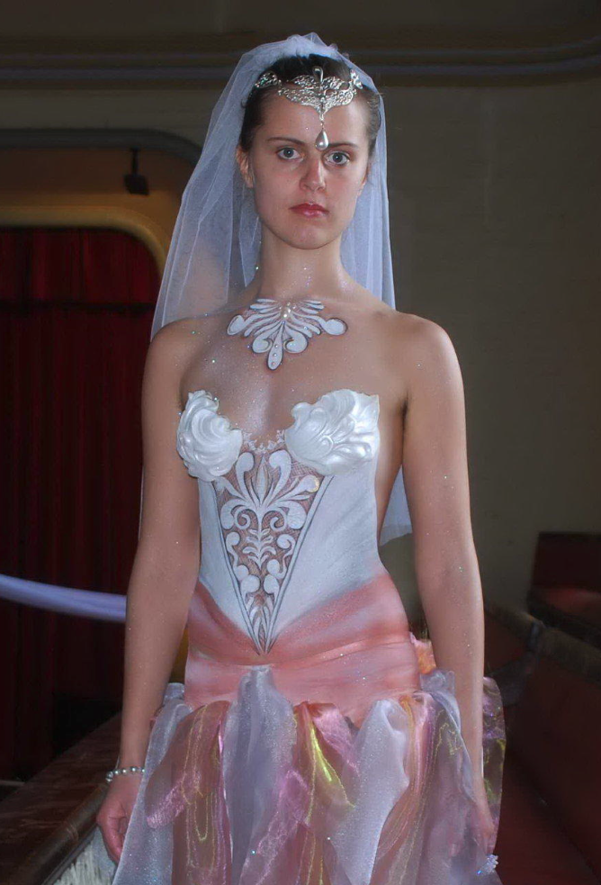 Pin On Brides In Body Paint