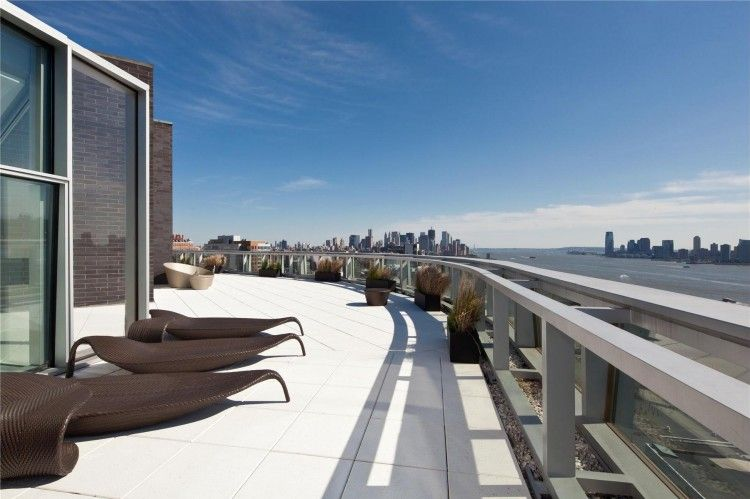 Spectacular Penthouse In Chelsea. Outdoor SpacesPenthouse ApartmentNew York  ...