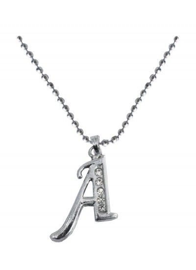 Silver a alphabet pendant alphabet pendantgold toned alphabet the online jewelry store offers a range of affordable fashion jewelry buy from our wide range of hand crafted designer jewelry designed for both women aloadofball Image collections