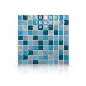 Decorative Wall Tiles Kitchen Backsplash Simple Lagoon Mosaik  Peel & Stick Wall Tiles  Smart Tiles Kitchen Inspiration Design