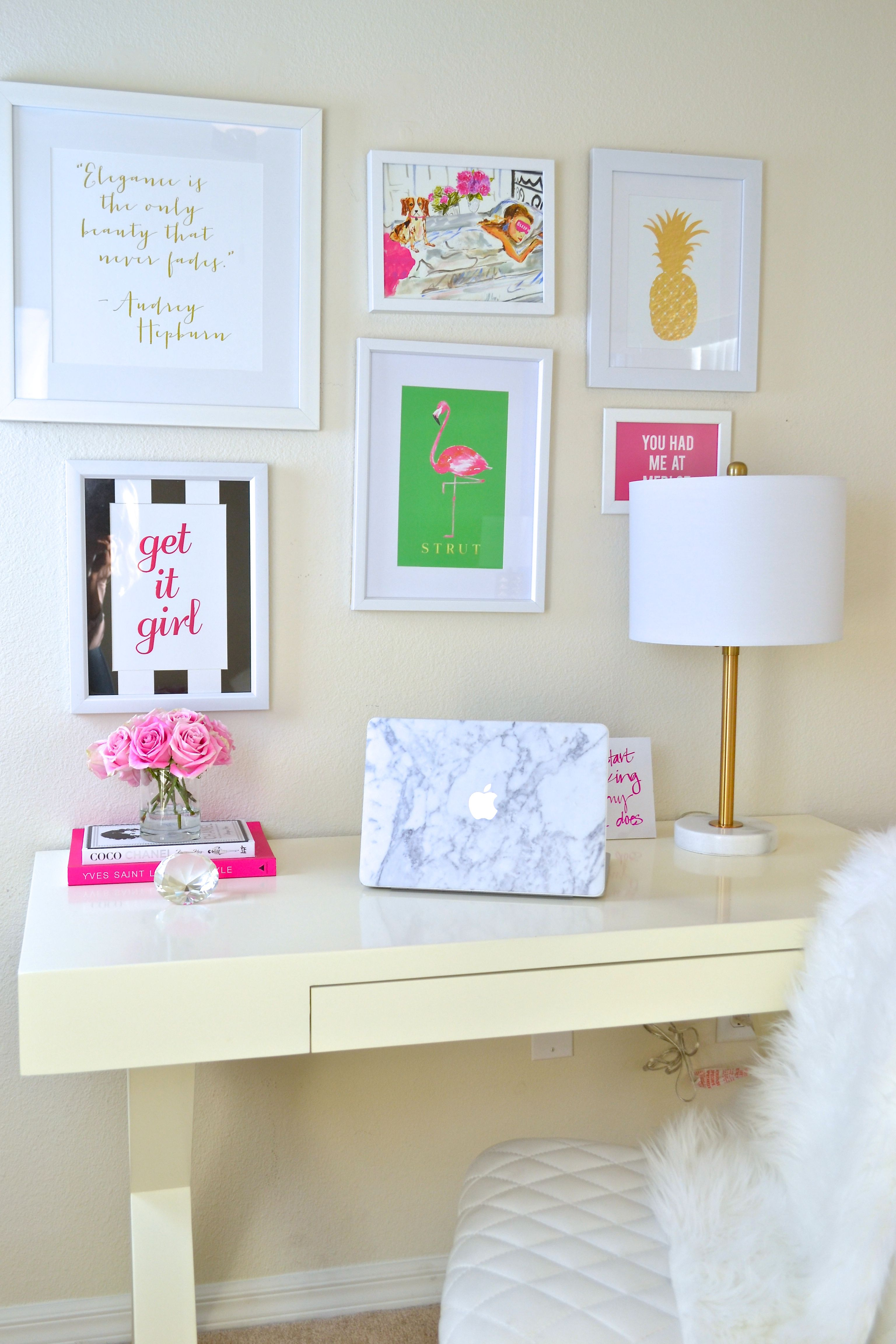 How to Glam Your Desk Space GIVEAWAY