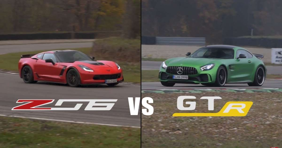 Here S Proof A Chevrolet Corvette Z06 Can Hold Its Own Against A Mercedes Amg Gt R Mercedes Amg Gt R Chevrolet Corvette Z06 Mercedes Amg