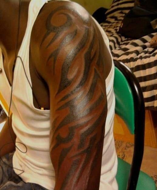 Tattoos On Black People Arm Amazing Flower Tattoos On Black People