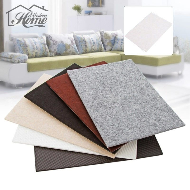 Super Large Thick Table Leg Pads Protectors Adhesive Cushions Furniture  Floor Protection Non Slip Rug Felt