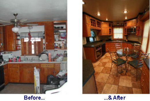 small kitchen remodels before after | kitchen remodel before and