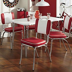 Java Joint Table and Set of 2 Kitchen Chairs from Seventh Avenue