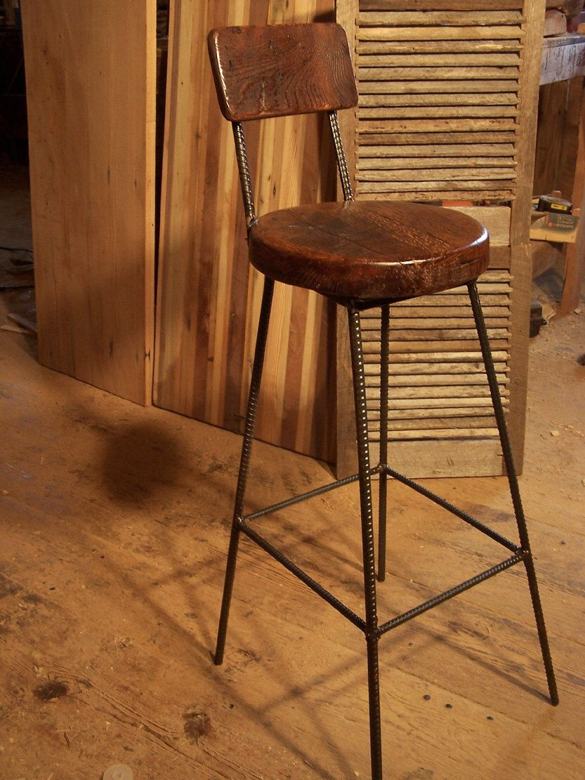 Wood Bar Stools With Backs Counter Height Stools Rustic Bar Stools Industrial Bar Stools Vintage Bar Stools Pub Stools Farmhouse Stool Oak Bar Stools Rustic Bar Stools Reclaimed Wood Bars