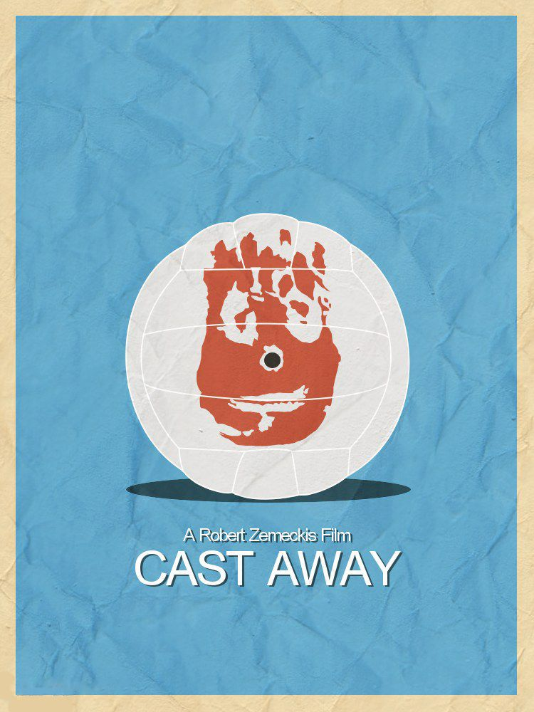 cast away minimal film posters movie posters cast