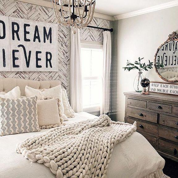 23 + Creative Ways Master Bedroom Ideas Rustic Farmhouse