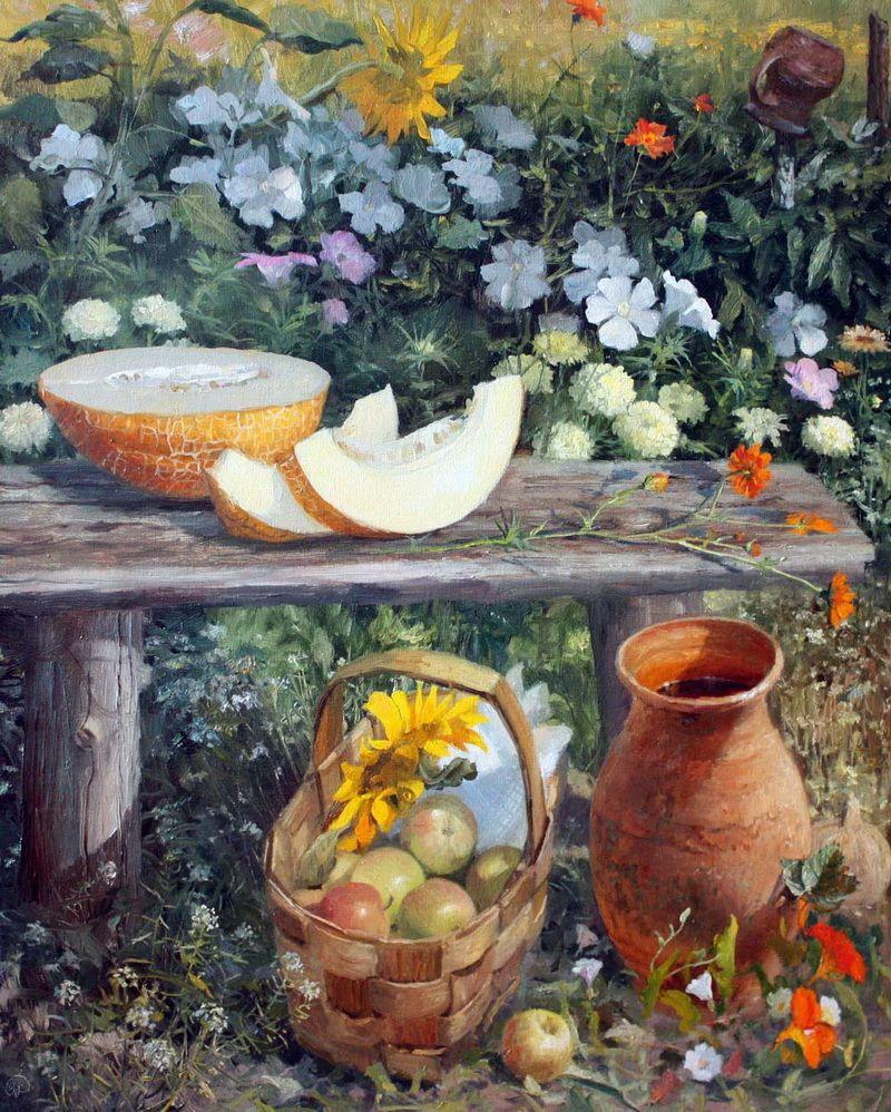 Vladimir Zhdanov: biography and paintings of the artist 20