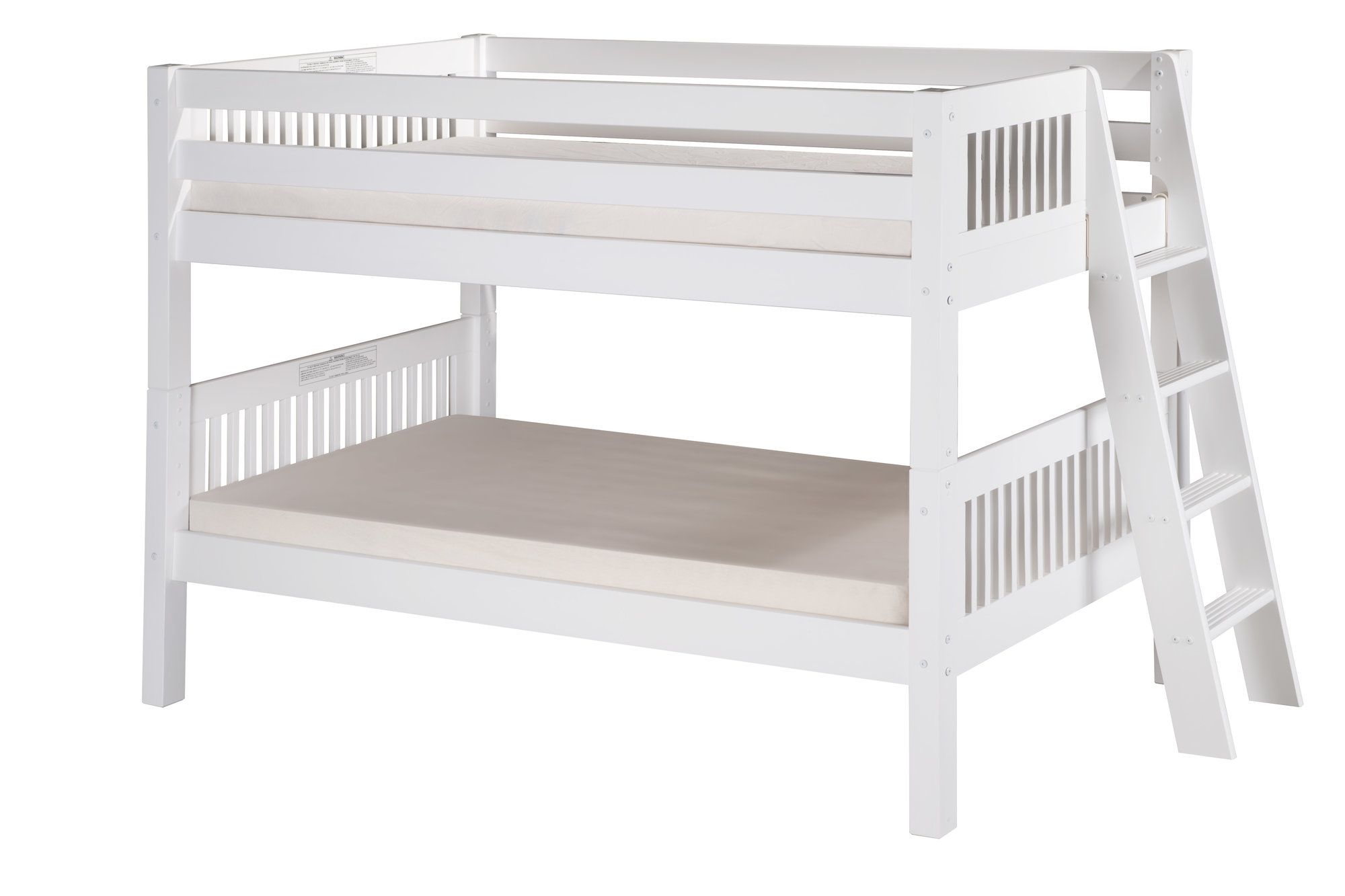 Twin loft bed dimensions  Isabelle Twin over Twin Bunk Bed  Bunk bed Twins and Products