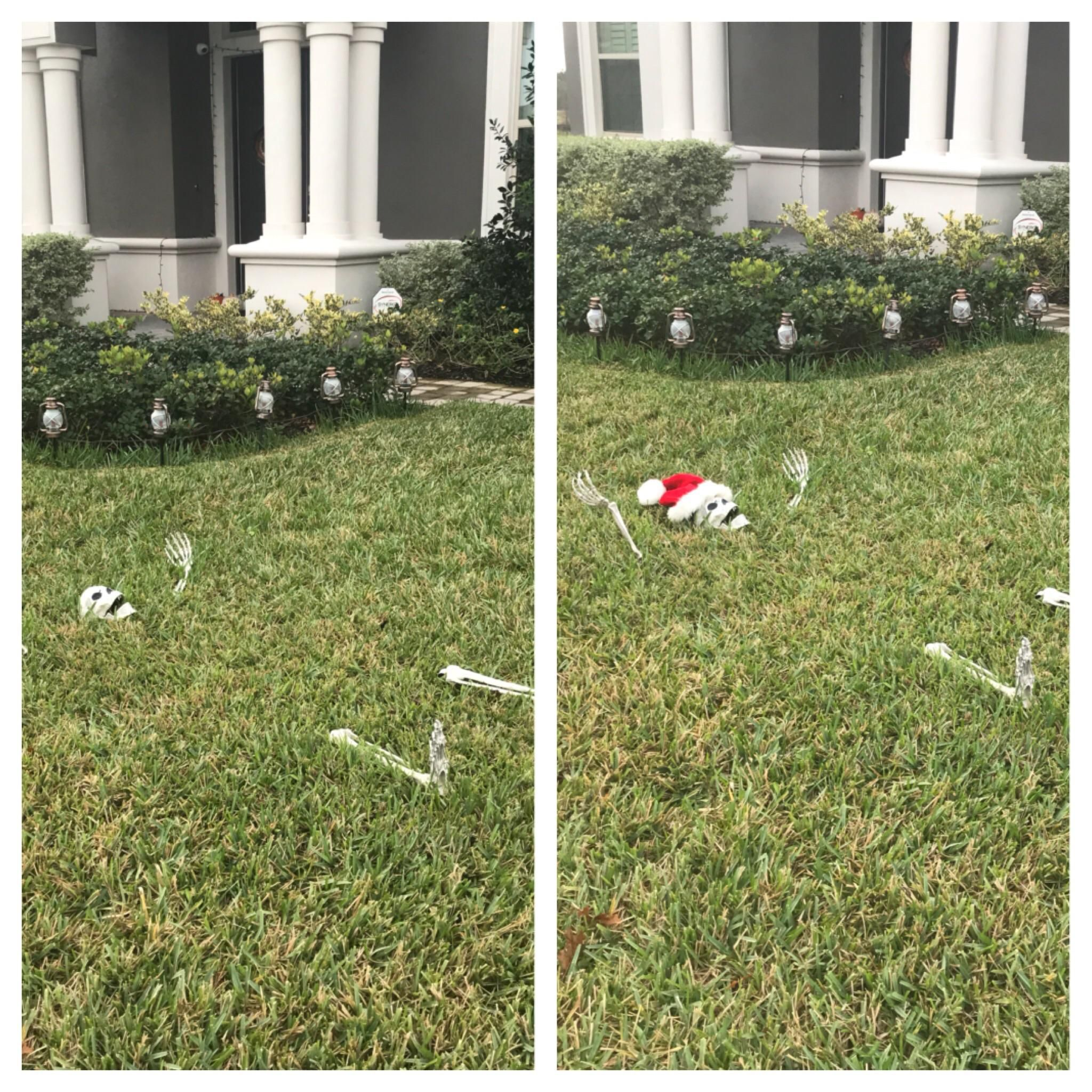 Finally finished the Christmas decorations